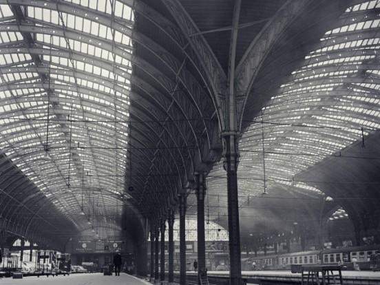 Burnel's arches at London Paddington (courtesy of English Heritage)