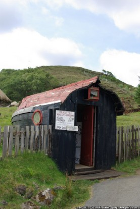 Ticket office, Colbost Folk Museum (Leslie Barrie)