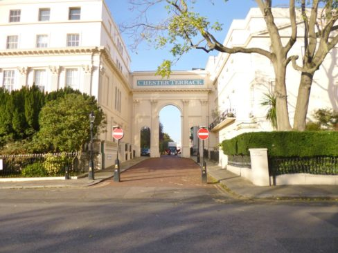 Chester Terrace Gateway (Mike Flaherty)